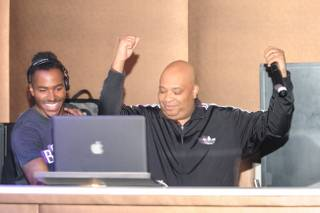 DJ Ruckus and Rev Run of Run-DMC at Pure in Caesars Palace on Tuesday, March 19, 2013.