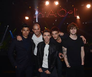 The Wanted at 1 OAK in The Mirage on Tuesday, March 19, 2013.