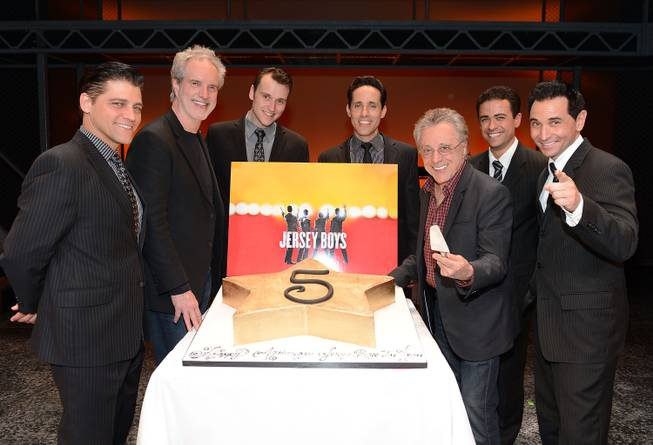 Deven May, Bob Gaudio, Rob Marnell, Jeff Leibow, Frankie Valli, ...