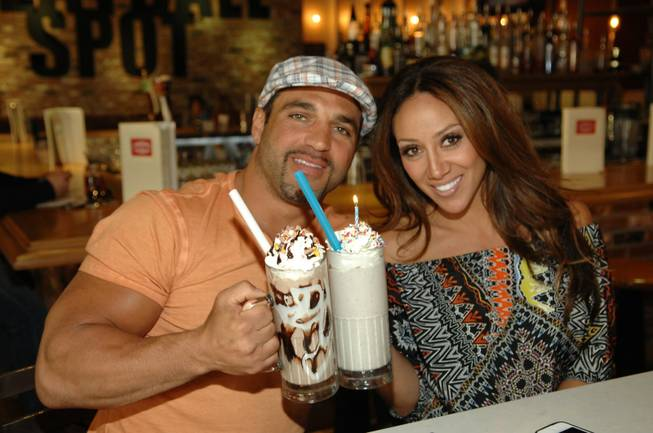 Joe and Melissa Gorga at Carla Pellegrino's Meatball Spot in ...
