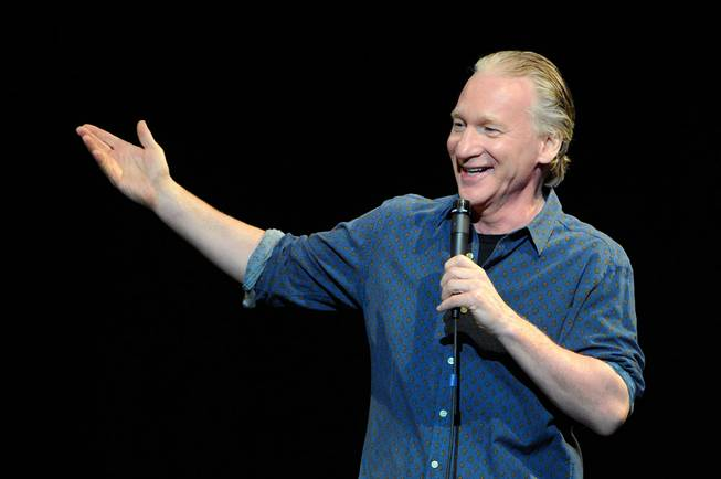 Bill Maher at Pearl at the Palms on Saturday, March 23, 2013.