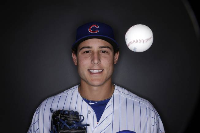 This is a 2013 photo of Anthony Rizzo of the Chicago Cubs.