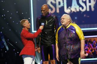 Joey Lawrence, Kareem Abdul-Jabbar and Louie Anderson on Episode 2 of ABC's