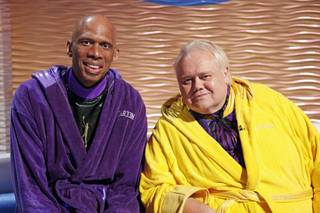 Kareem Abdul-Jabbar and Louie Anderson on Episode 2 of ABC's