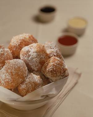 Beignets form Grand Lux Cafe.