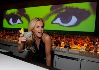 Jenny McCarthy at Andrea's in Encore on Friday, March 29, 2013.