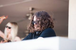 DJ Tommy Trash spins at Wet Republic at MGM Grand on Saturday, March 30, 2013.