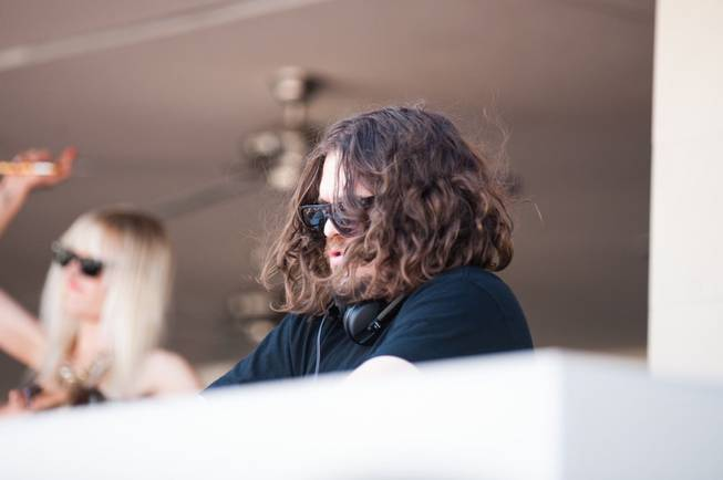 DJ Tommy Trash spins at Wet Republic at MGM Grand ...