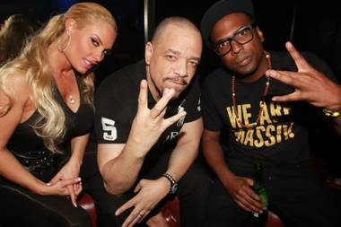 "Now that actor and rapper Ice-T is here for the summer with wife Coco Austin, who is headlining in ""Peepshow"" at Planet Hollywood, the happy ..."