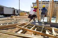 U.S. homebuilders are feeling a bit less confident this month, reflecting a dimmer outlook for sales in the months ahead and fewer would-be buyers dropping by builders' sales offices ...