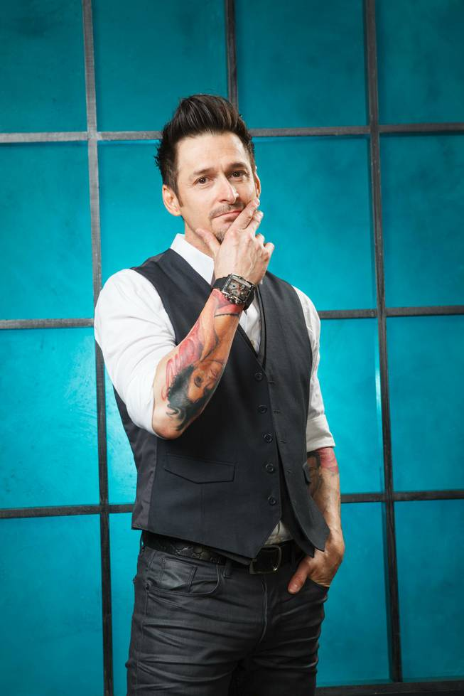"Las Vegas tattoo artist Joey Hamilton on Spike TV's ""Ink Master."""