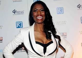 Omarosa attends the 2013 Opportunity Village Celebrity Poker Tournament at Caesars Palace on Saturday, April 6, 2013.
