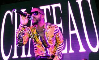 Omarion hosts and performs at Chateau Nightclub & Gardens at Paris Las Vegas on Friday, April 5, 2013.