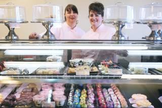 Doreen, left, and Diana Drago from the Drago Sisters Bakery Wednesday, April 10, 2013.
