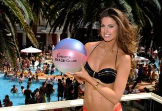 Katherine Webb at Encore Beach Club on Saturday, April 13, 2013.