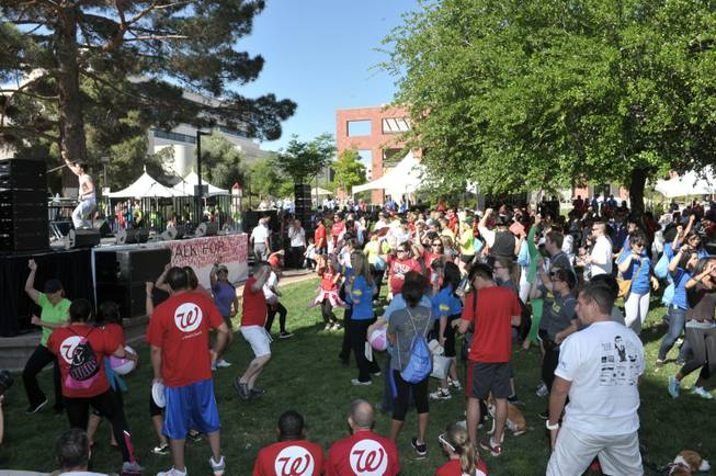 The 2013 AFAN AIDS Walk at UNLV on Sunday, April 14, 2013.