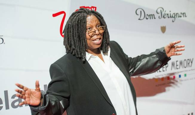 "Whoopi Goldberg attends the 2013 Keep Memory Alive ""Power of Love"" Gala celebrating the joint 80th birthdays of Sir Michael Caine and Quincy Jones at MGM Grand Garden Arena on Saturday, April 13, 2013."
