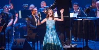 Jackie Evancho performs at Reynolds Hall in The Smith Center for the Performing Arts in Downtown Las Vegas on Saturday, April 13, 2013.