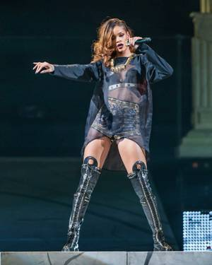 "Rihanna's ""Diamonds"" tour concert at Mandalay Bay Events Center on Friday, April 13, 2013."
