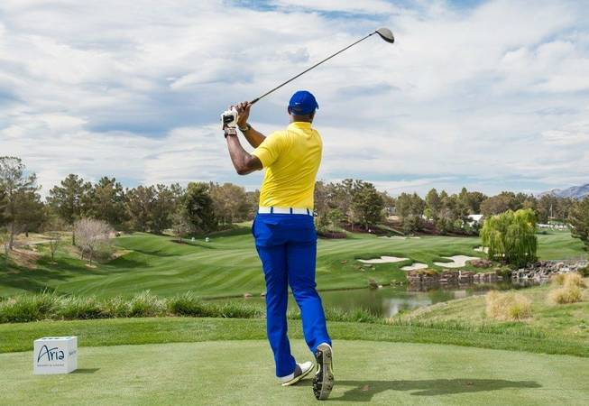 The 2013 Michael Jordan Celebrity Invitational at Shadow Creek in North Las Vegas.