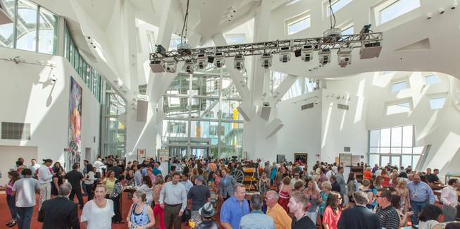 UNLVino's BAR-b-q at the Cleveland Clinic Lou Ruvo Center for Brain Health in the Keep Memory Alive Event Center.