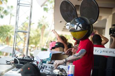 Deadmau5 opens the 2013 season of Wet Republic at MGM Grand on Sunday, April 21, 2013.