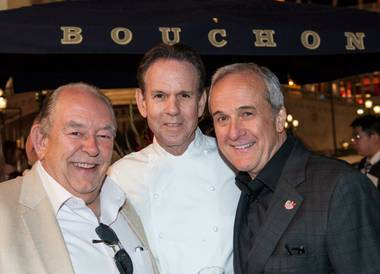 Star chef Thomas Keller, whose restaurants French Laundry in Napa and Per Se in New York, are consistently ranked the Top Two in America, says he's ...