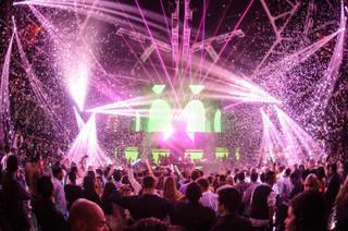DJ Tommy Trash at Hakkasan Las Vegas in MGM Grand on Sunday, April 21, 2013.