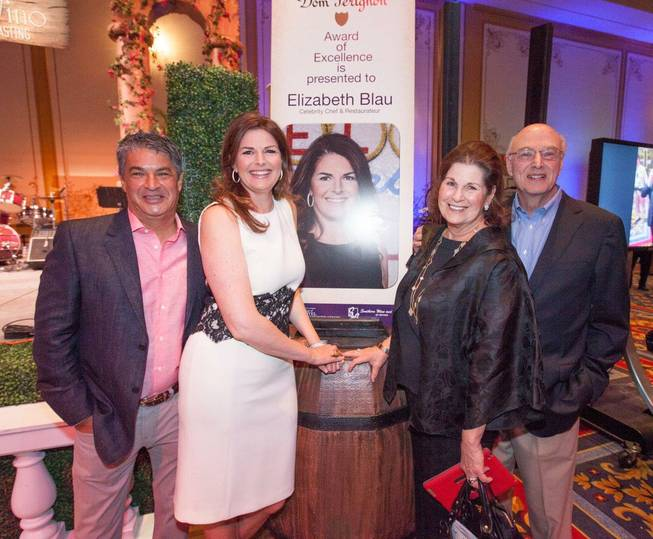 2013 UNLVino's Grand Tasting honoring Elizabeth Blau with the Dom ...