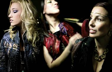 Members of Prince's backing band 3rdEyeGirl, from left: Hannah Ford, Donna Grantis and Ida Nielsen.