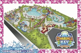 A rendering of the Cowabunga Bay Las Vegas water park, which is scheduled to open in 2013.