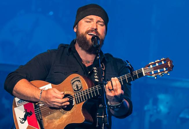 Zac Brown Band at The Chelsea in The Cosmopolitan of Las Vegas on Saturday, April 27, 2013.