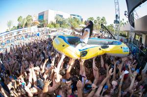 Aoki Splash Vegas at Wet Republic