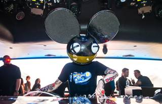 Deadmau5 at Hakkasan Las Vegas in MGM Grand on Friday, April 26, 2013.