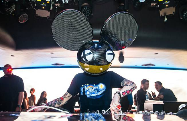 Deadmau5 at Hakkasan Las Vegas in MGM Grand on Friday, ...