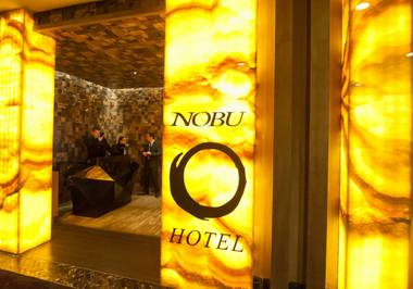 Legendary chef Nobu Matsuhisa serves refined, modern Japanese cuisine on five continents, but there's only one place to sample his breakfast, and it happens to be right down the street.