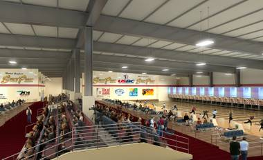 Representatives of the South Point announced Tuesday they will build a $30 million bowling arena in a 12-year agreement to house United States Bowling Congress events that will begin in 2016.