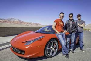 'Jersey Boys' and American Muscle Car Driving Experience