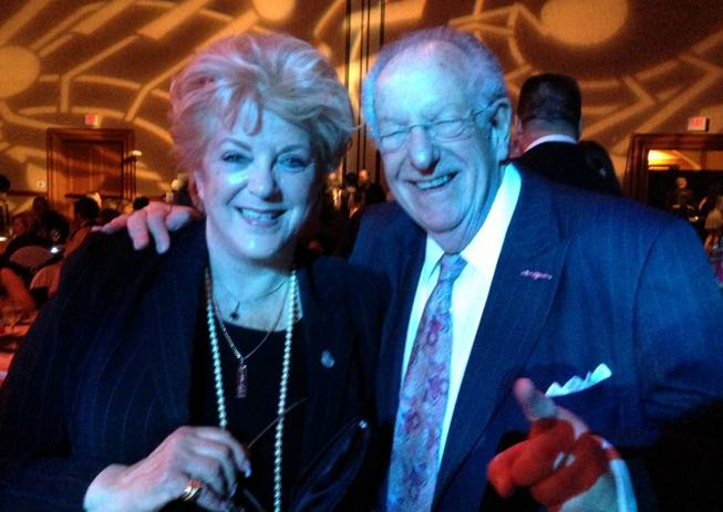 Carolyn Goodman and Oscar Goodman.