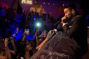 Frankie J Celebrates Cinco de Mayo at Pure