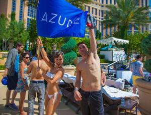 Ace Young and Diana DeGarmo Host at Azure