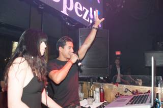 Mario Lopez hosts a pre-fight party at Tao in The Venetian on Friday, May 3, 2013.