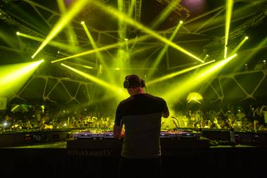 DJ Tiesto at Hakkasan Las Vegas in MGM Grand on Friday, May 3, 2013.