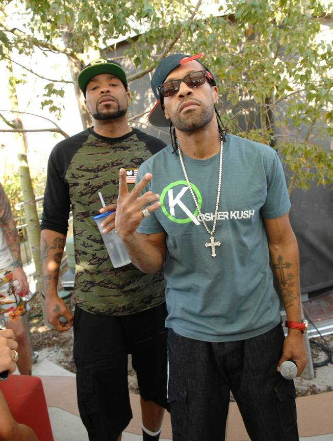 Method Man and Redman at Ditch Weekend at the Palms on Saturday, May 4, 2013.