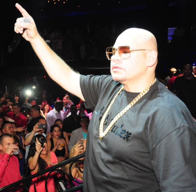 Fat Joe celebrates Cinco de Mayo at LAX in the ...