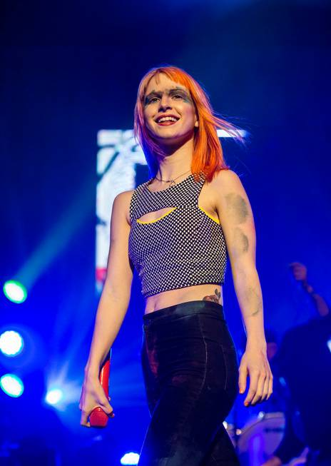 Paramore performs at The Joint in The Hard Rock Hotel ...