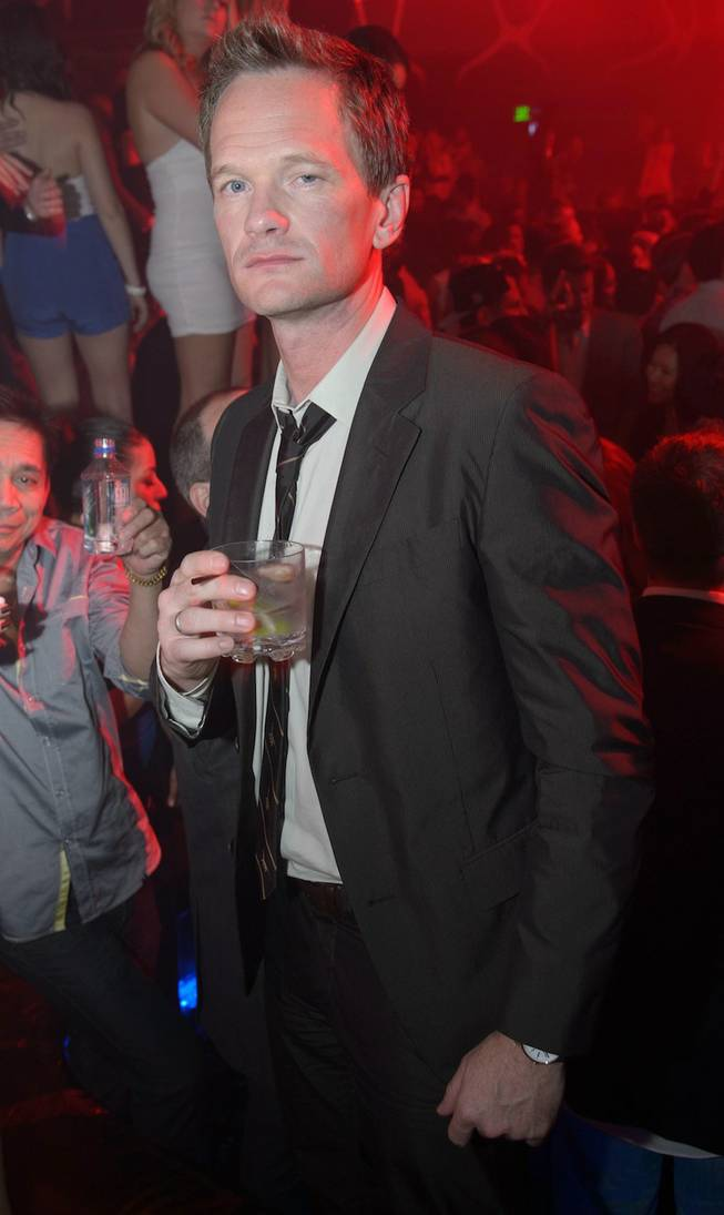 Neil Patrick Harris at Hakkasan Las Vegas in MGM Grand on Saturday, May 4, 2013.