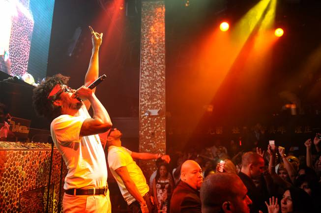 Trinidad James hosts and performs at Tao in The Venetian ...