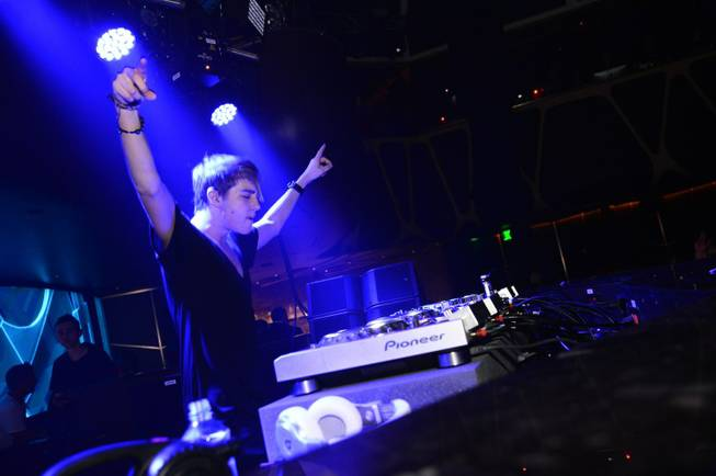 DJ Danny Avila at Hakkasan Las Vegas in MGM Grand on Sunday, May 5, 2013.