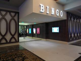 The new Bingo room at Green Valley Ranch, May 2013.
